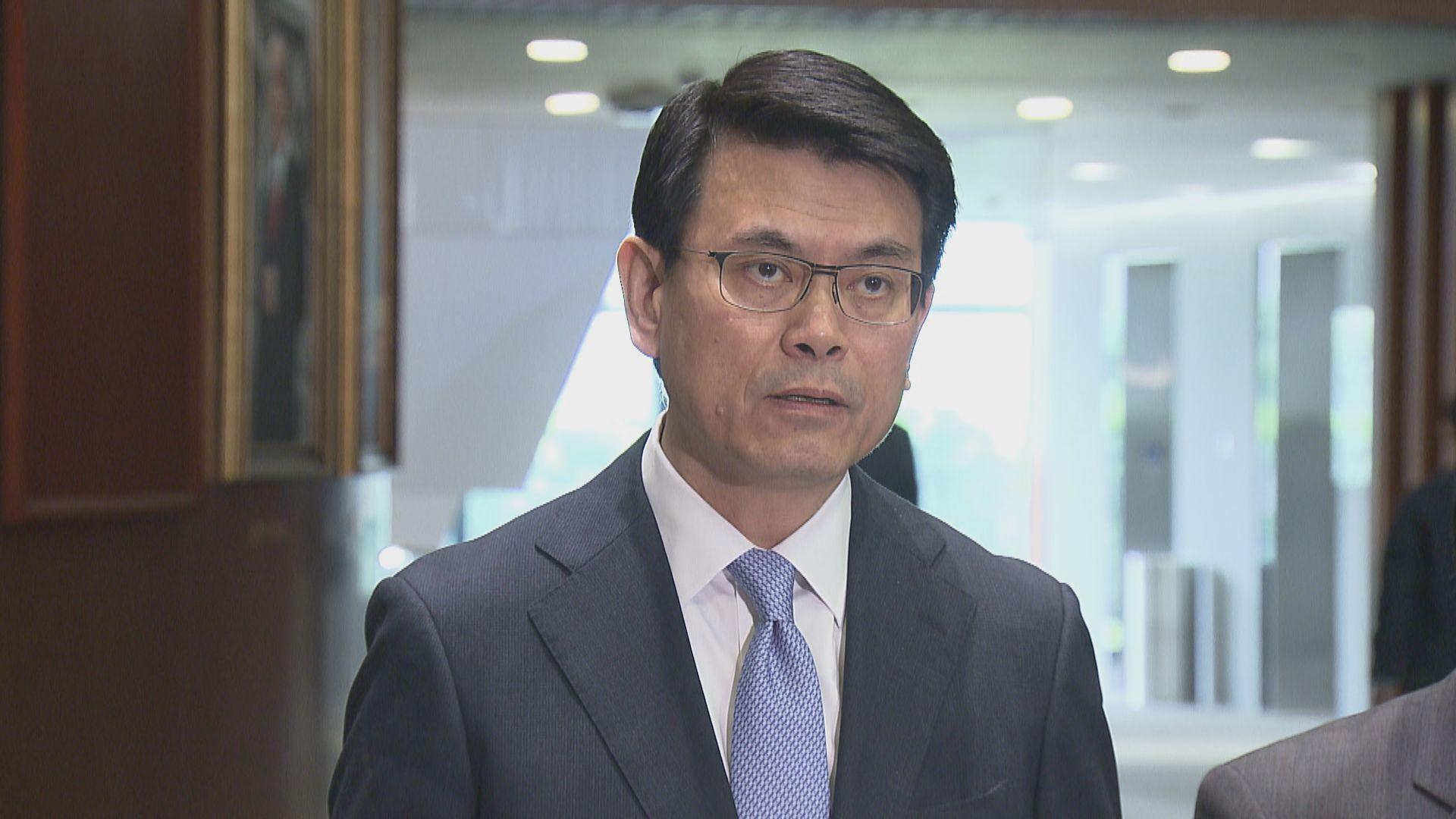 邱騰華:以人權法案改香港經貿地位將無視基本法