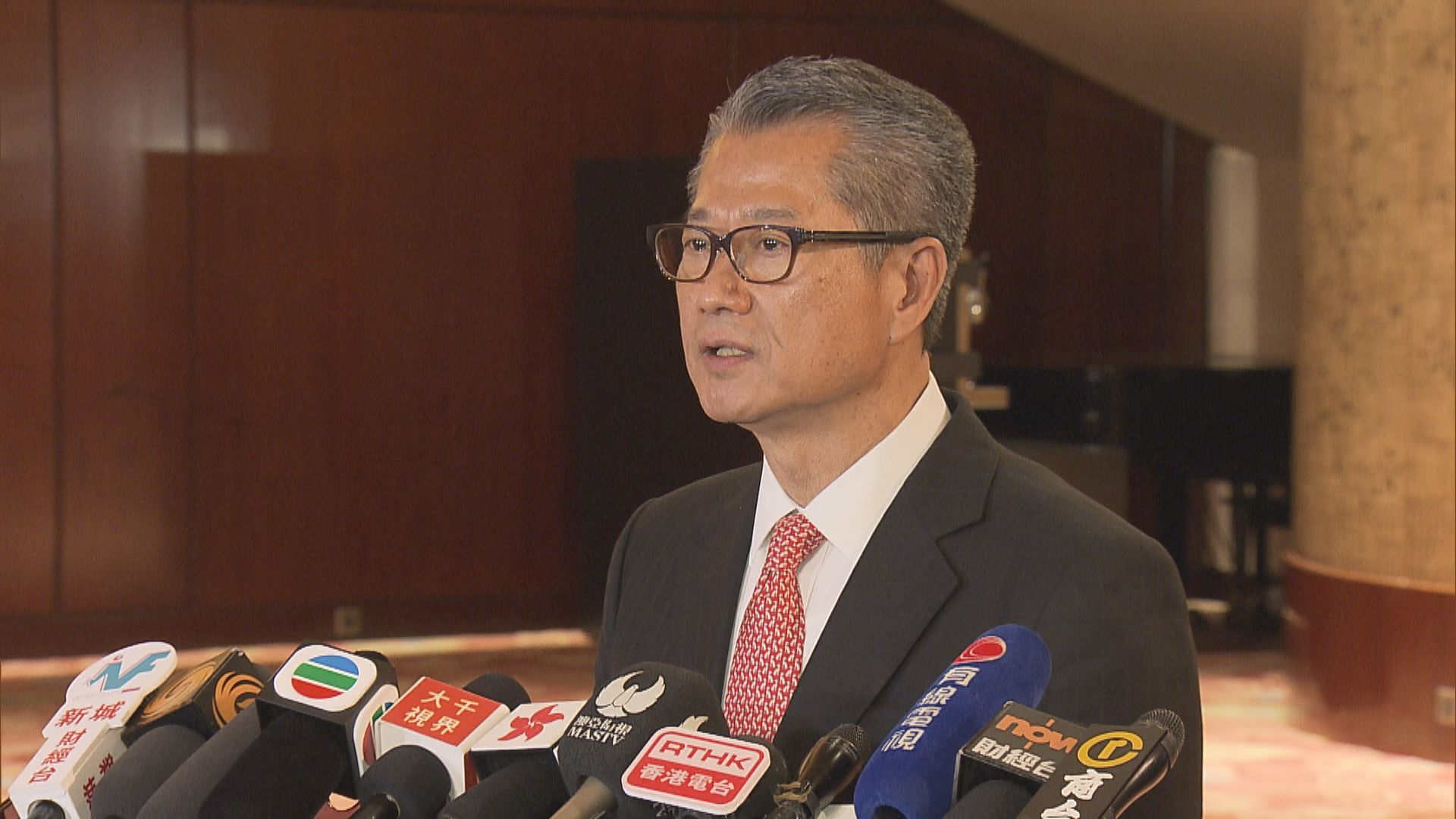 陳茂波盼美國謹慎處理涉港法案