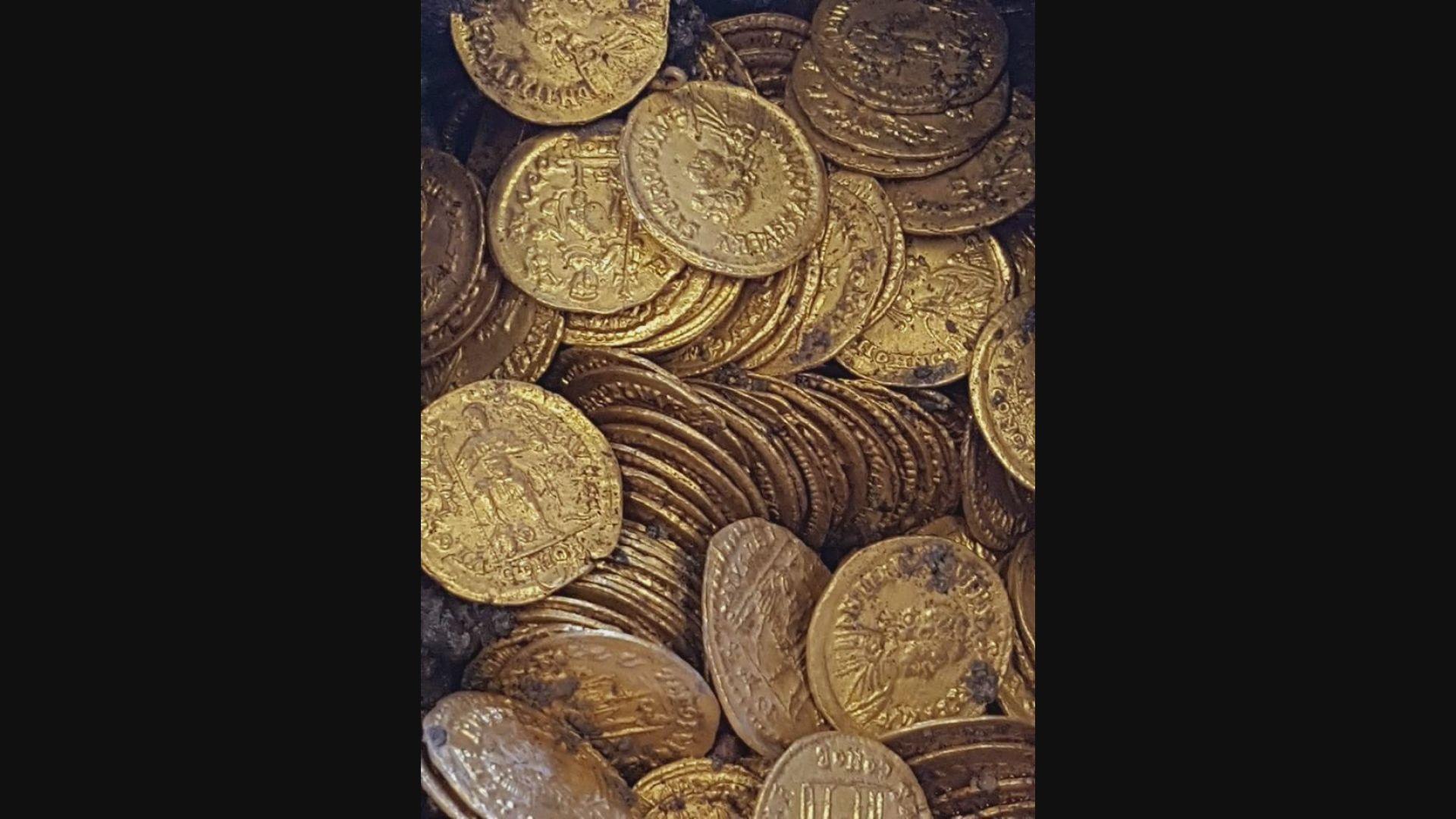 【環球薈報】過百枚舊金幣於意大利北部出土