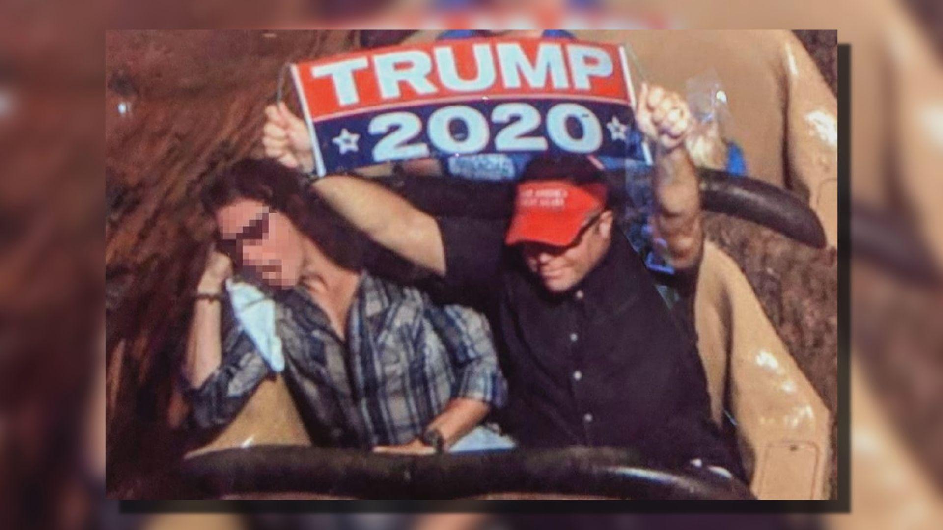 【環球薈報】特朗普支持者被迪士尼樂園禁足一世