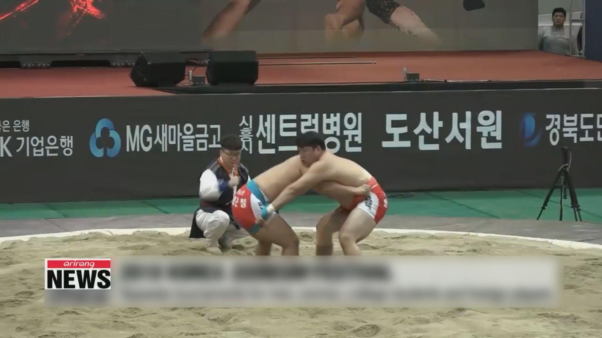 【環球薈報】南北韓首次聯合為摔跤申遺