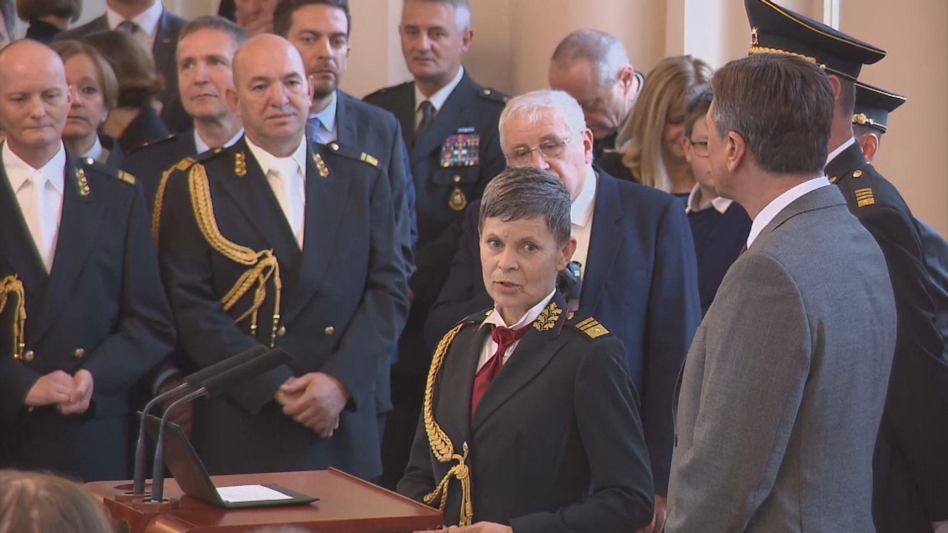 【環球薈報】斯洛文尼亞首名女總參謀長出爐