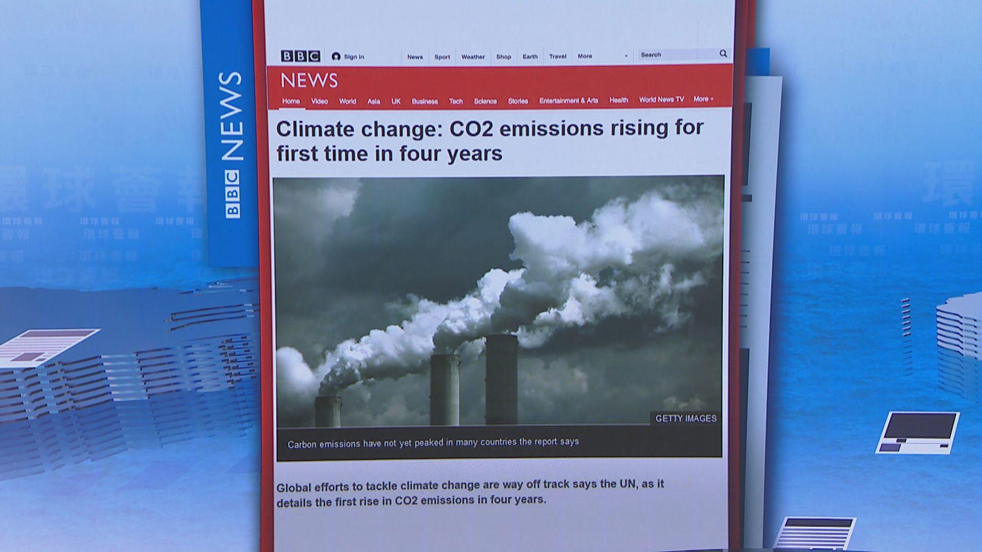 【環球薈報】報告指全球溫室氣體排放不減反增