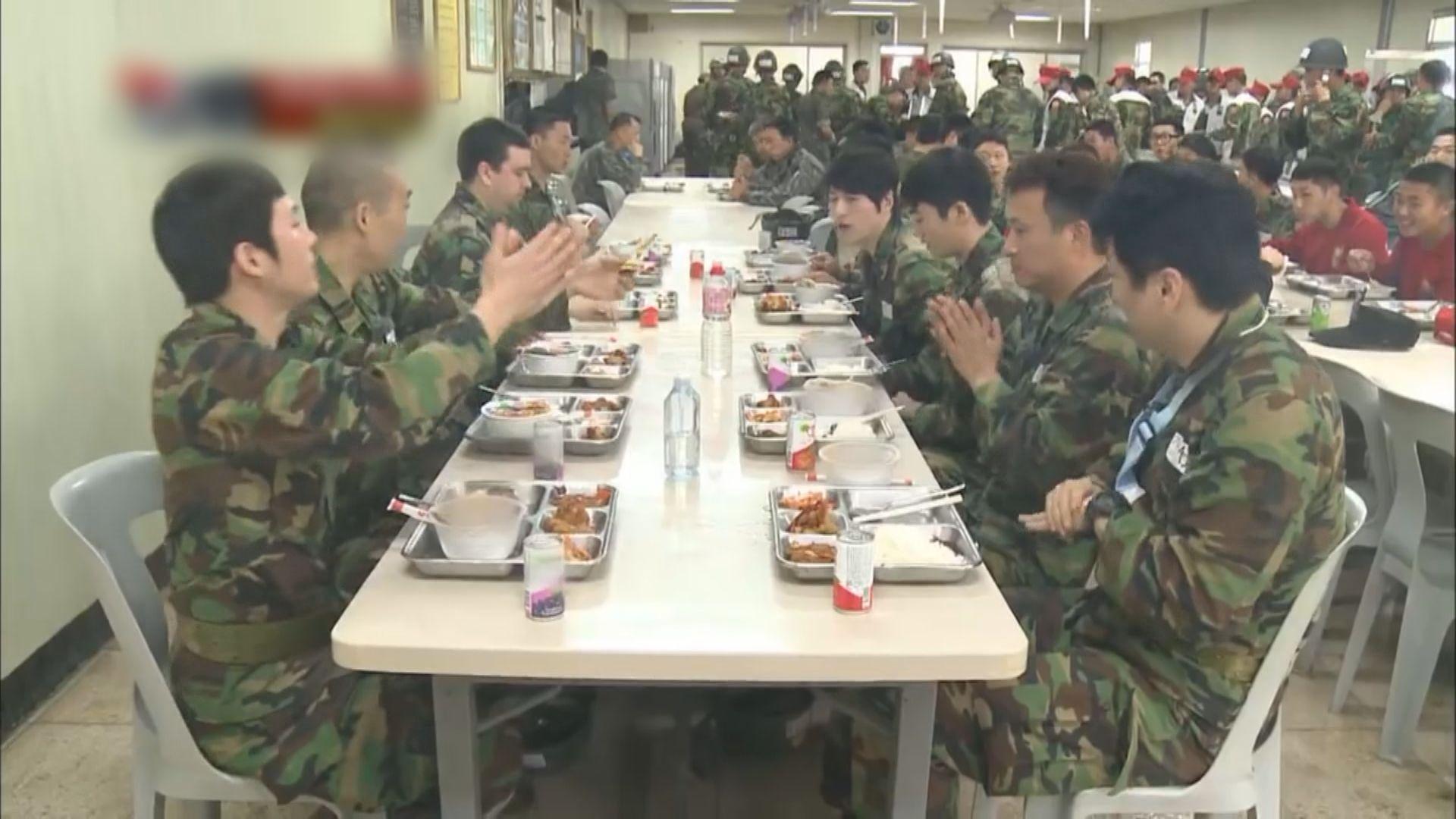 【環球薈報】韓軍伙食將新增多種新菜式