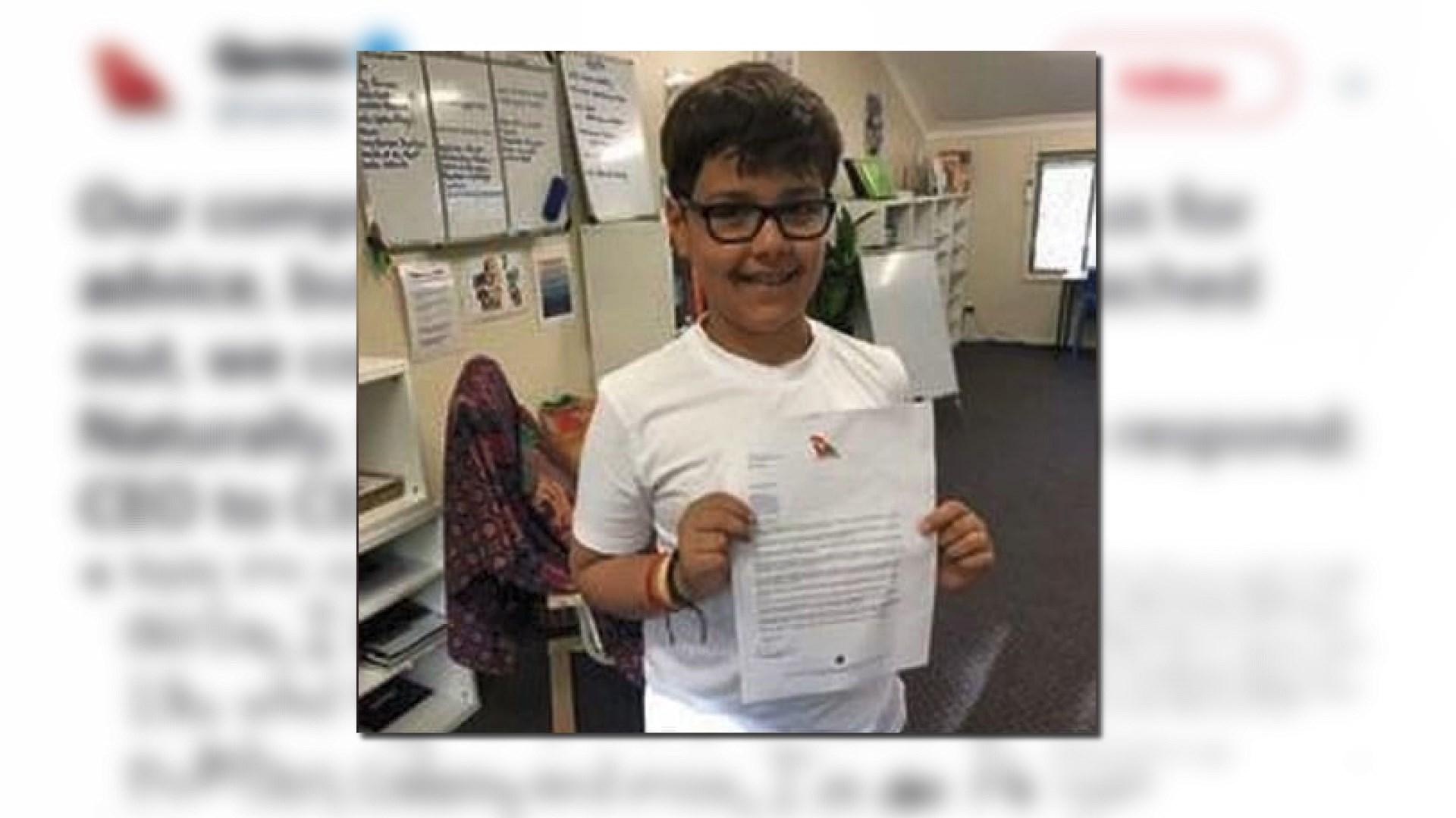 【環球薈報】男童去信澳航行政總裁問創業之道
