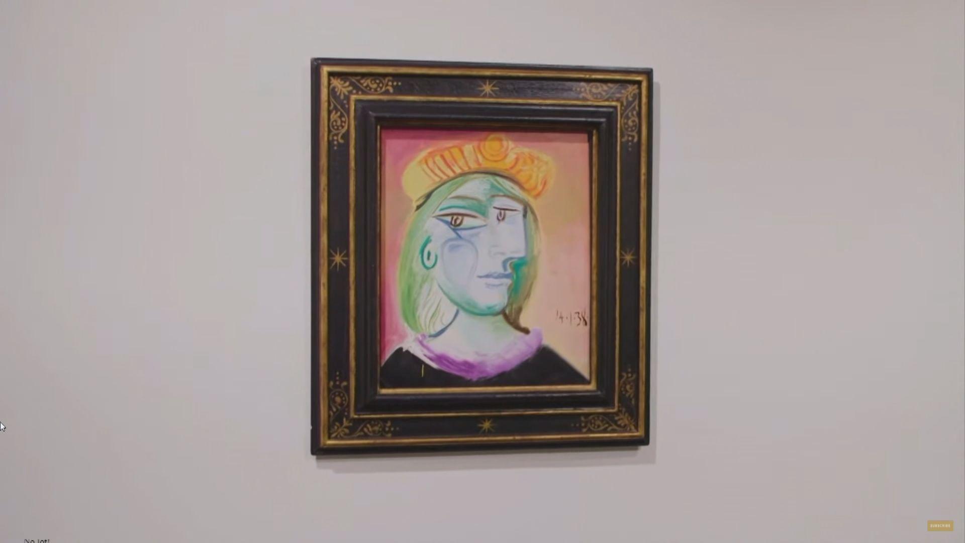 【環球薈報】蘇富比首次於美國賭城舉行拍賣會  畢加索多幅作品高價成交