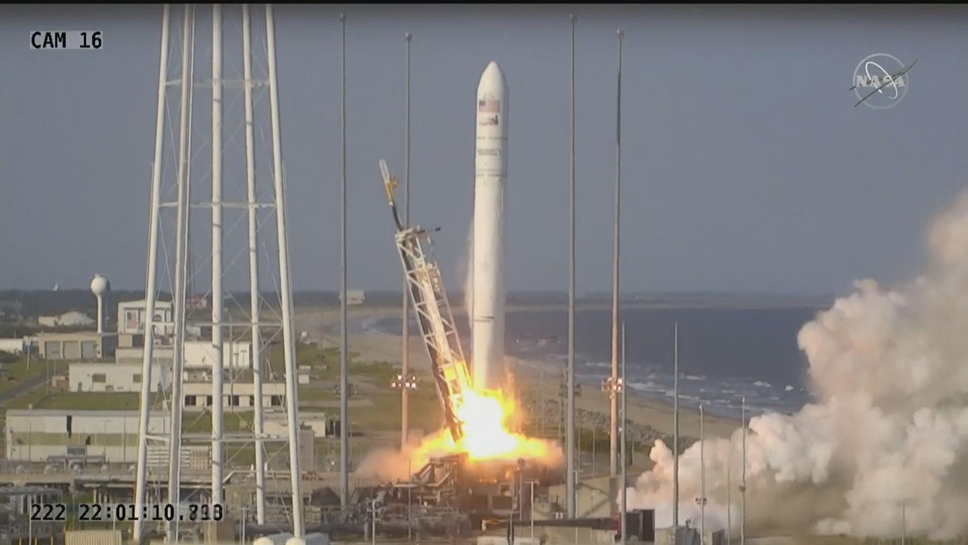【環球薈報】天鵝座飛船攜帶國際太空站補給物資升空