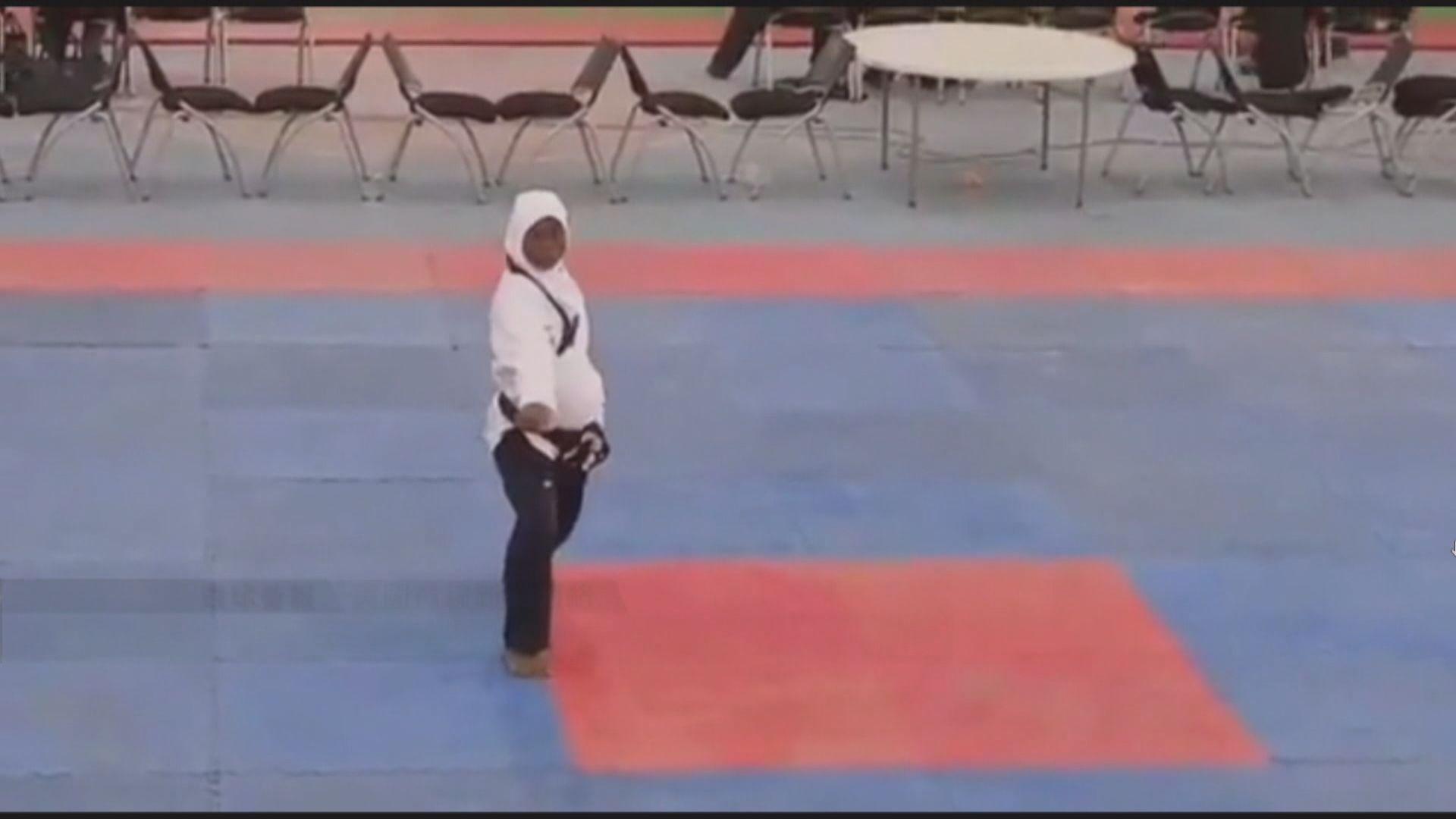 【環球薈報】尼日利亞孕婦贏得跆拳道品勢比賽冠軍