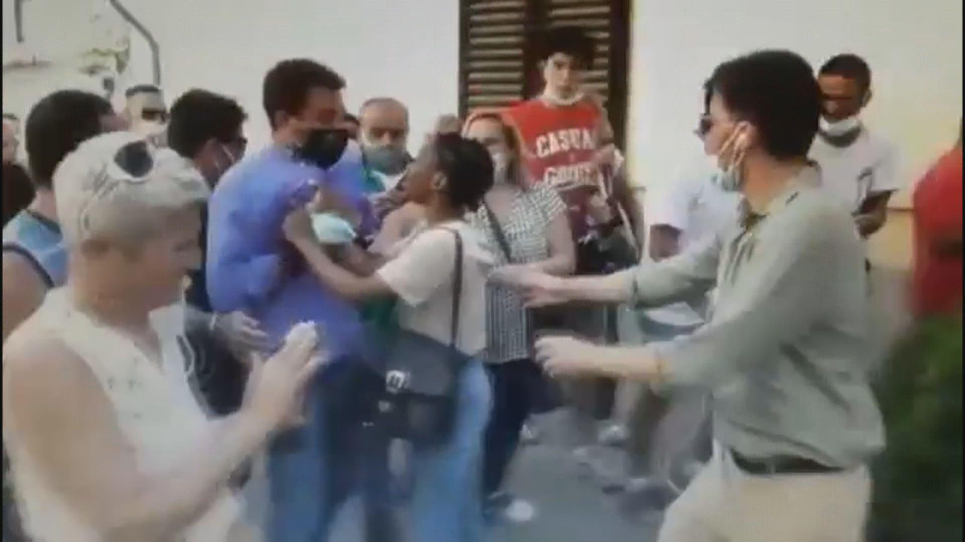 【環球薈報】意大利反移民極右政黨領袖遇襲