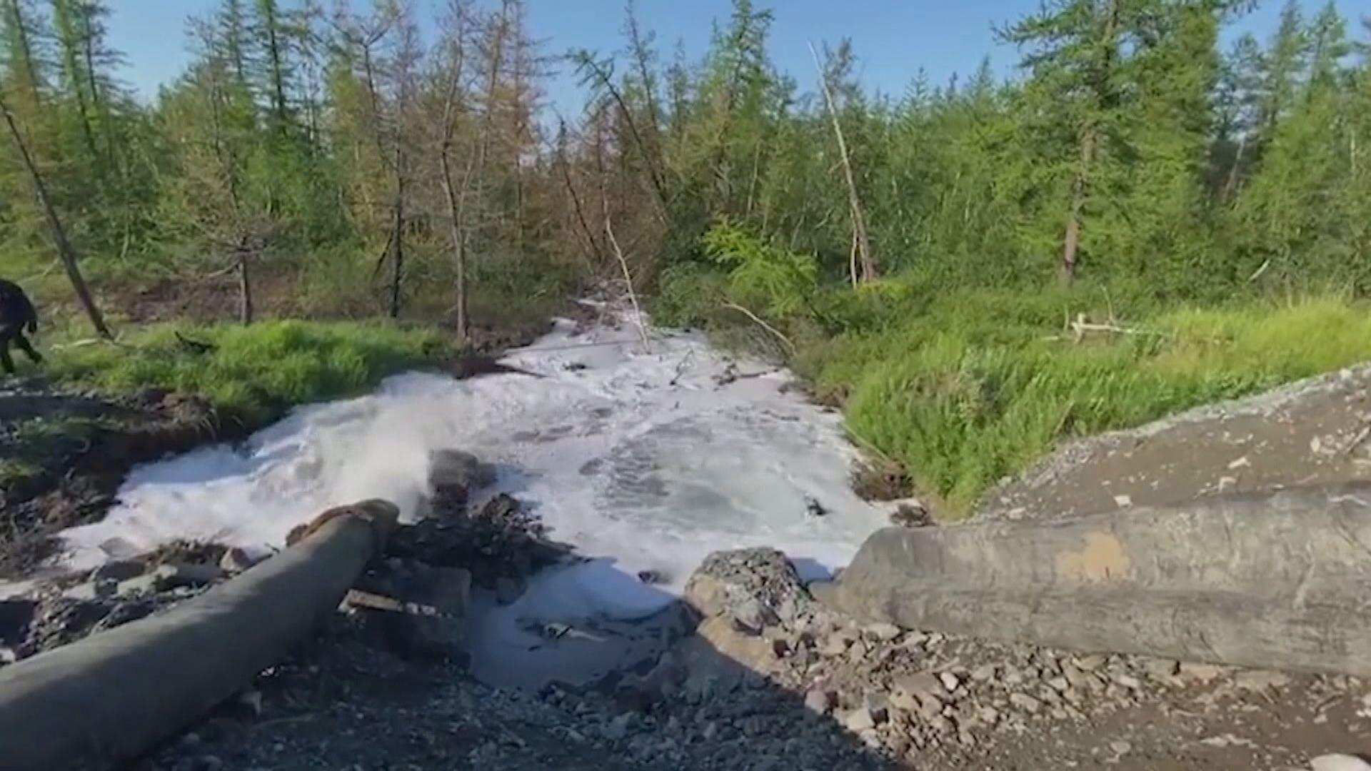 【環球薈報】俄礦業巨企承認排污水入北極凍原