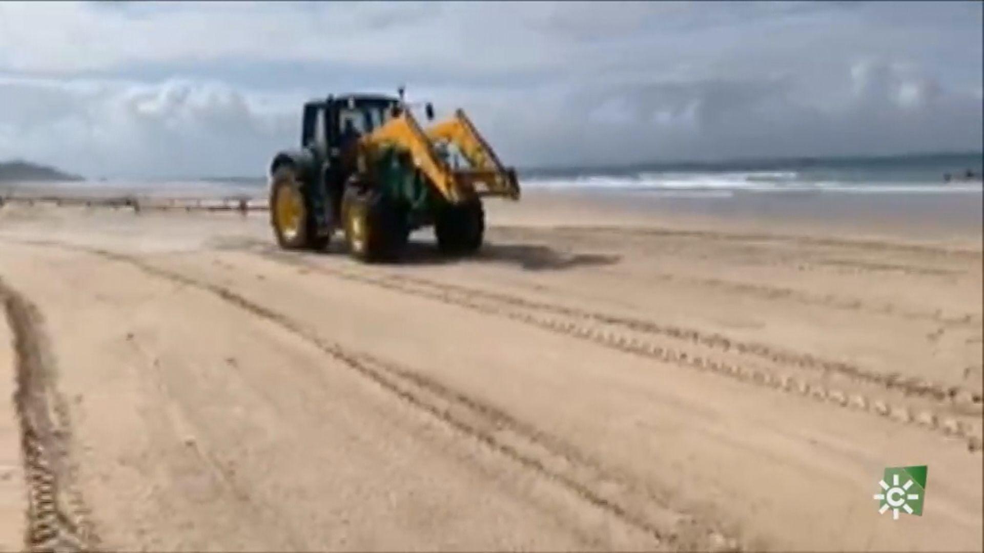 【環球薈報】西班牙官員以漂白水消毒海灘遭抨擊