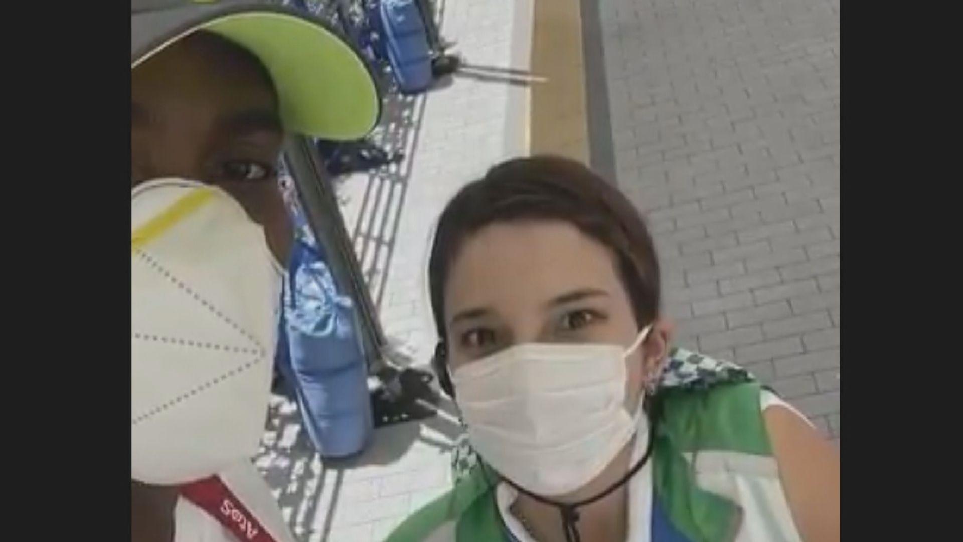 【環球薈報】奧運跨欄冠軍獲志願者協助及時抵達會場