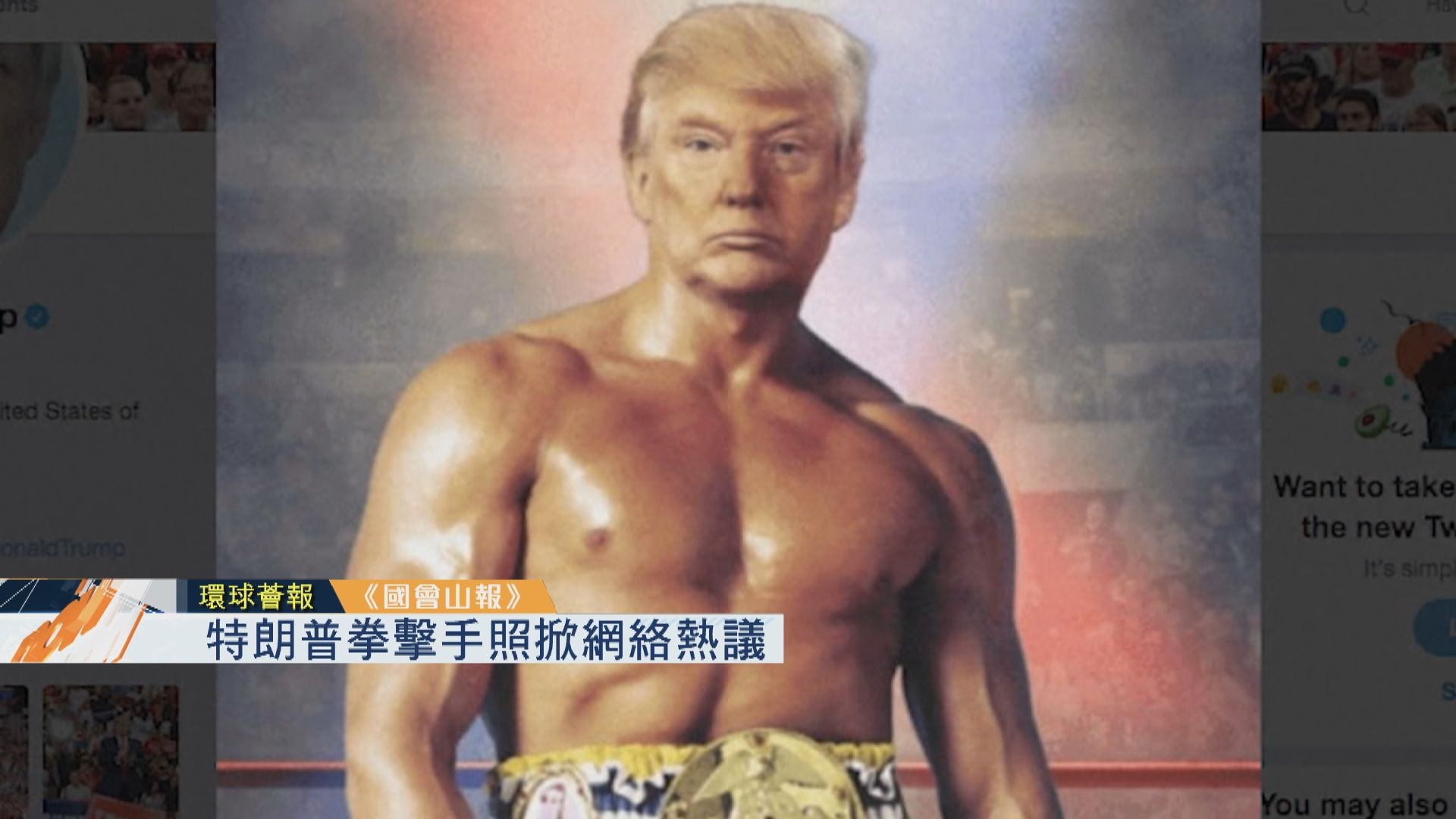 【環球薈報】特朗普拳擊手照掀網絡熱議