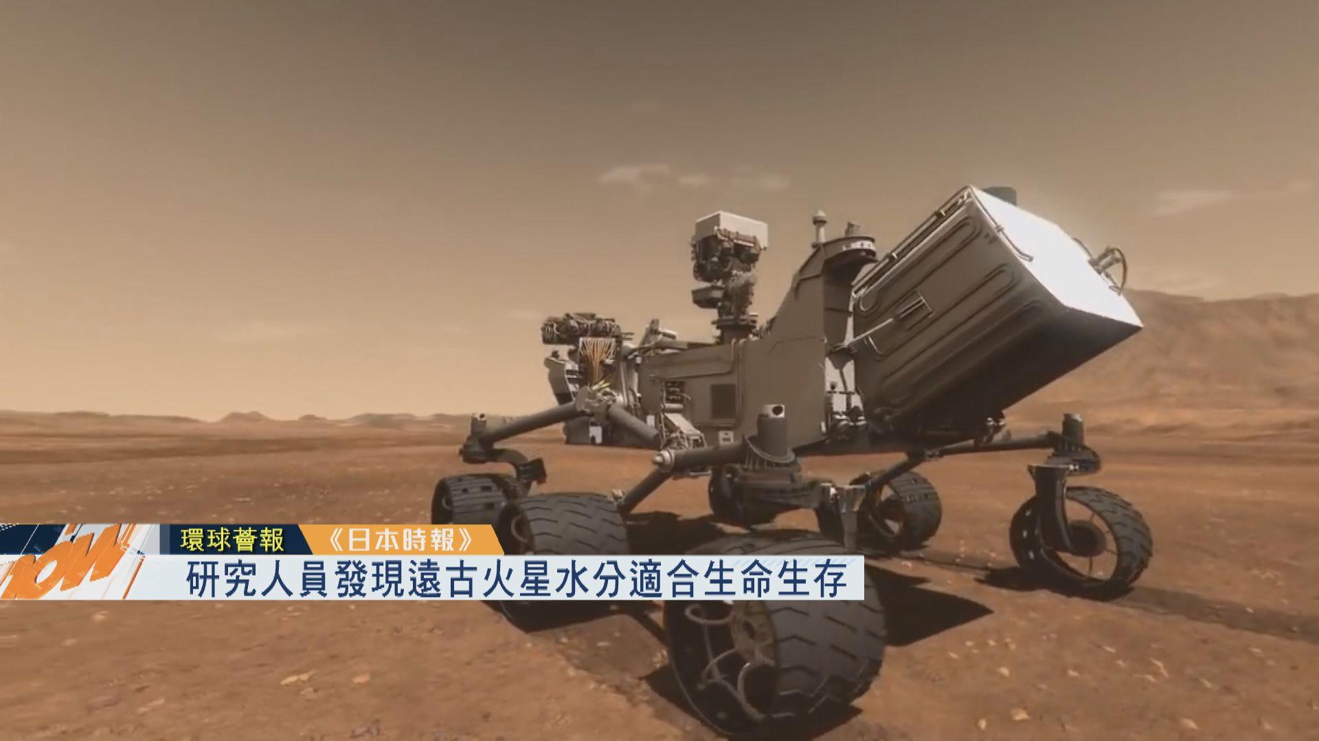 【環球薈報】研究人員發現遠古火星水份