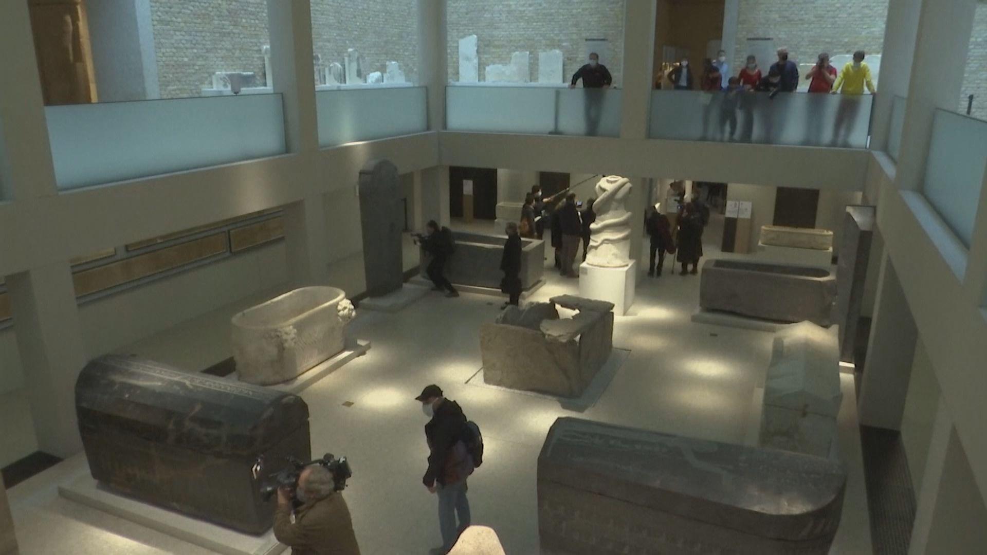 【環球薈報】德國柏林博物館館藏遭淋潑油性液體破壞