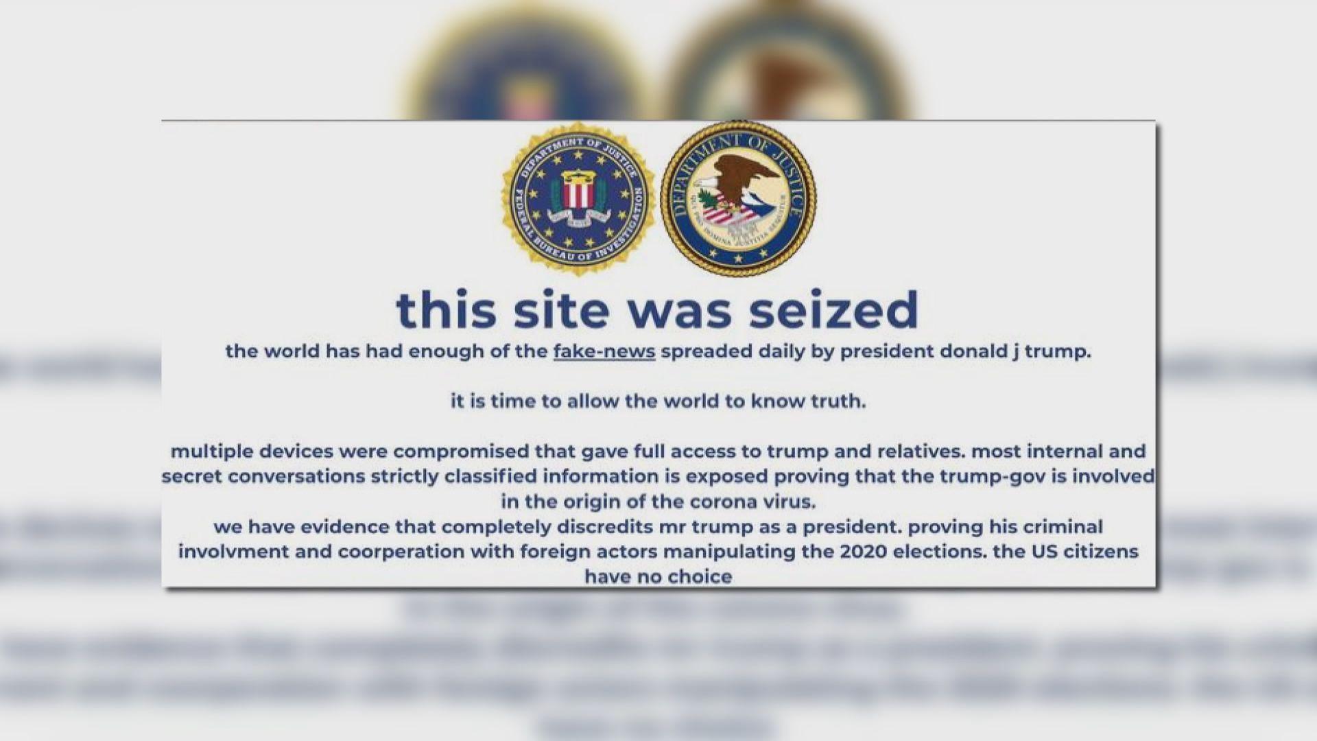 【環球薈報】donaldjtrump.com被黑客攻擊約半小時