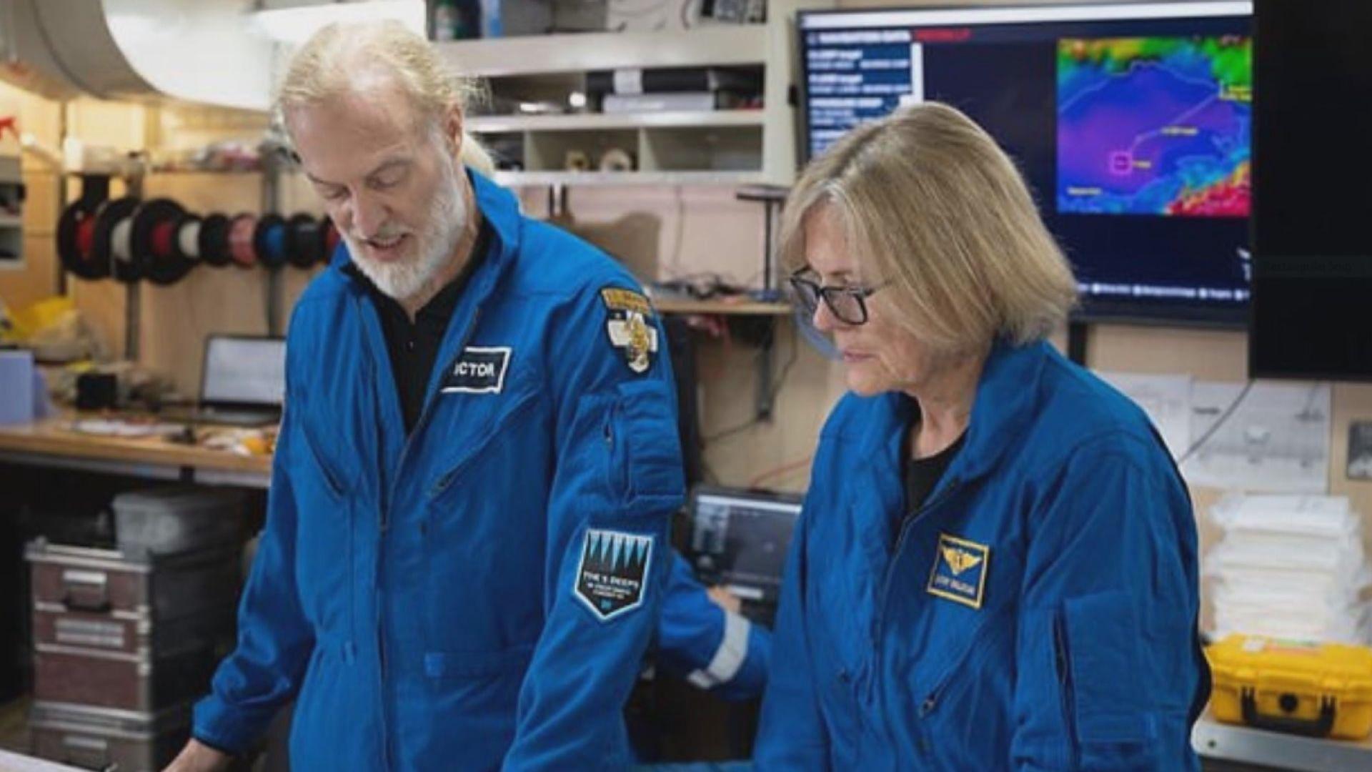 【環球薈報】美國首位太空漫步女太空人挑戰海底最深淵