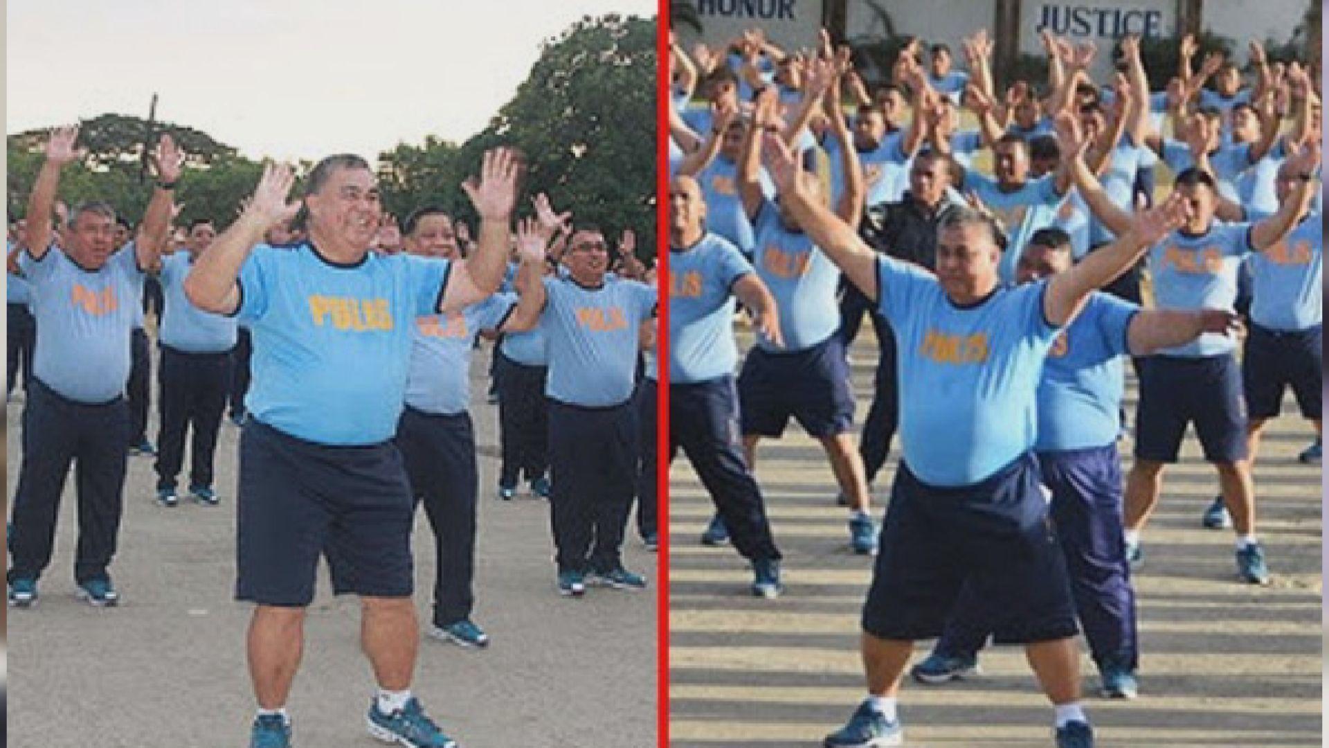 【環球薈報】菲律賓恢復監察警員體重 局長減重二十公斤
