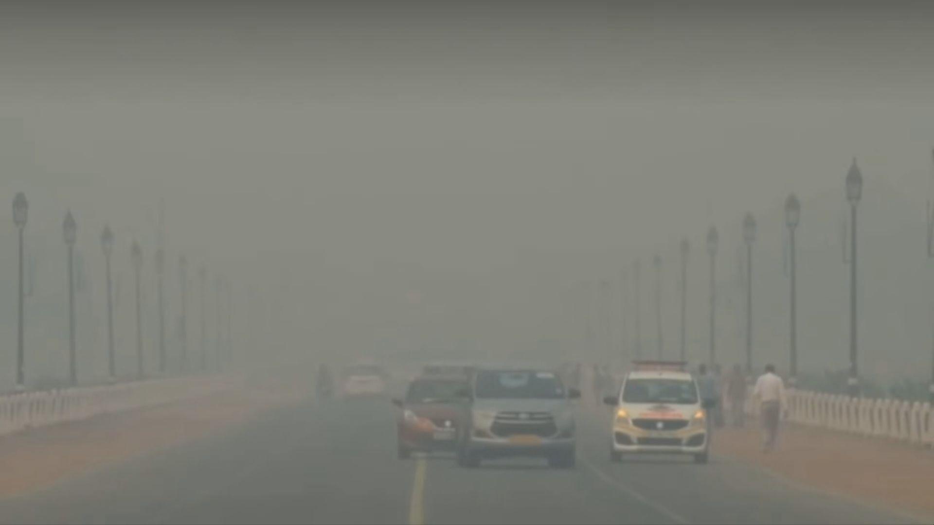 【環球薈報】印度新德里霧霾懸浮粒子超標逾十倍