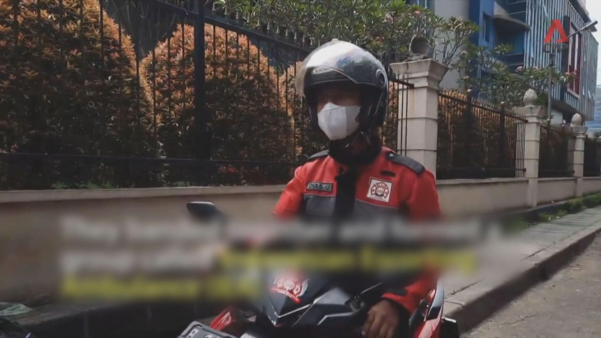 【環球薈報】印尼志願騎士無懼疫情為救護車開路