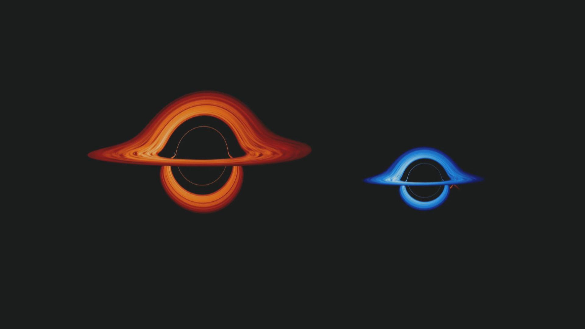 【環球薈報】美國太空總署發放兩個黑洞「共舞」片段