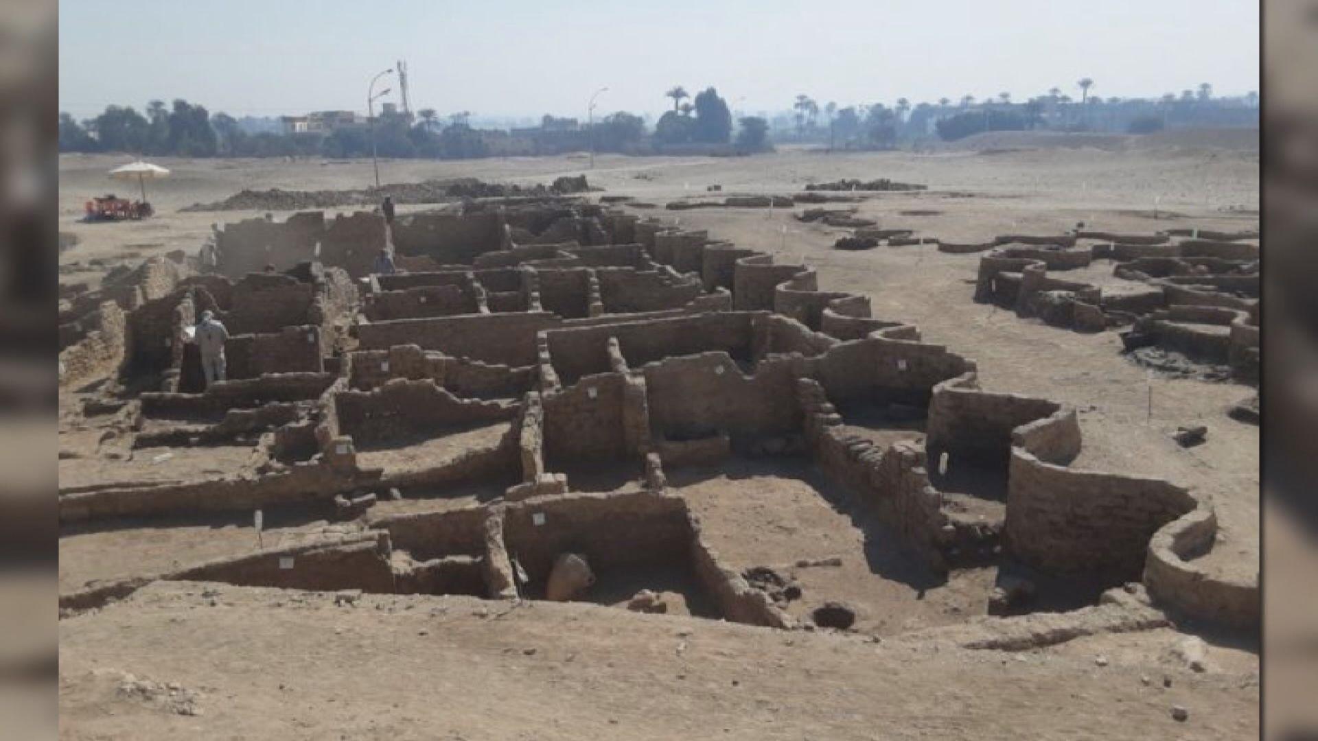 【環球薈報】考古學家發現距今三千年古埃及重要都城