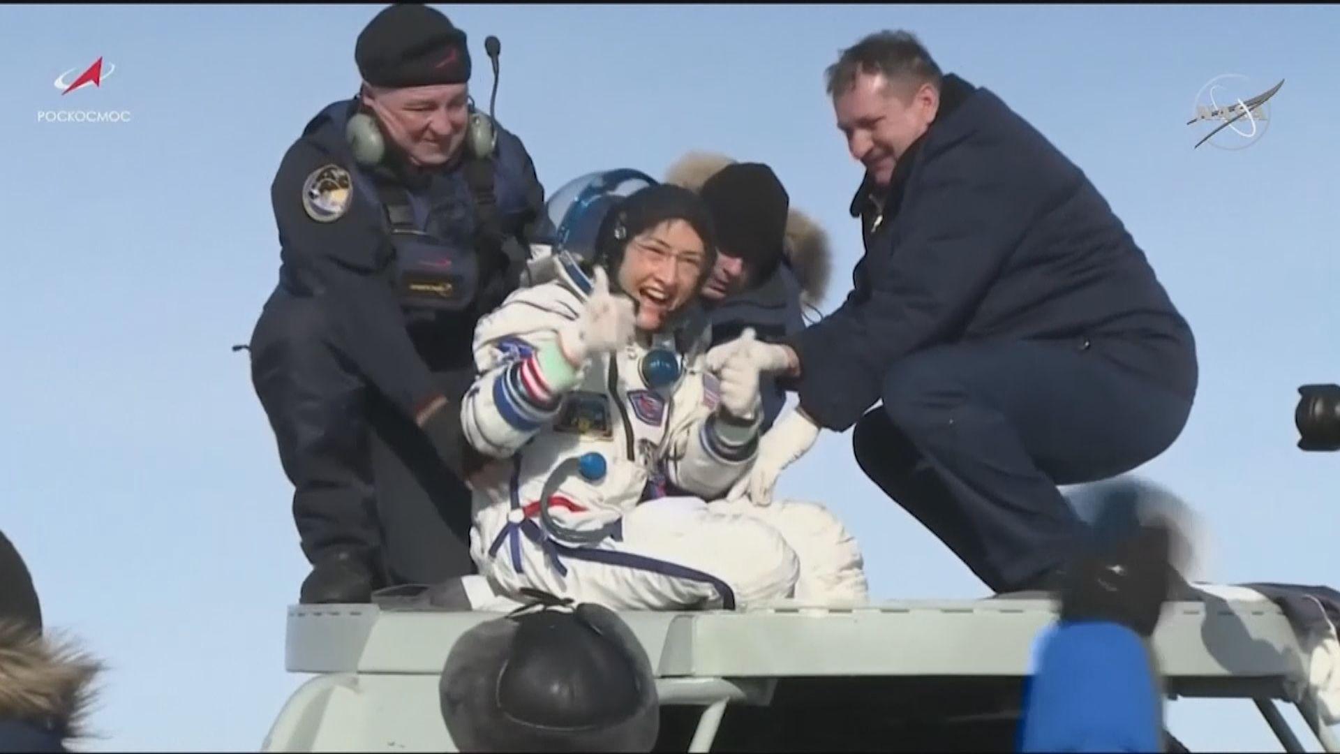 【環球薈報】美國女太空人破女性單次最長太空飛行紀錄