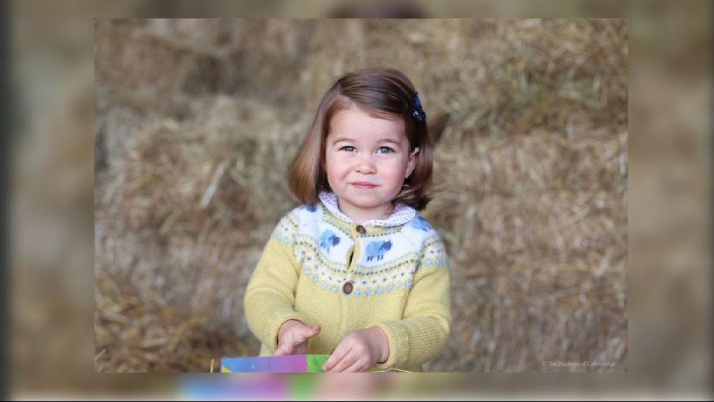 【環球薈報】英國王室發放夏洛特公主近照