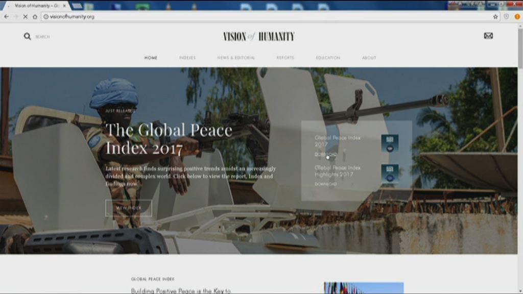 【環球薈報】美政局不穩令北美洲和平指數跌