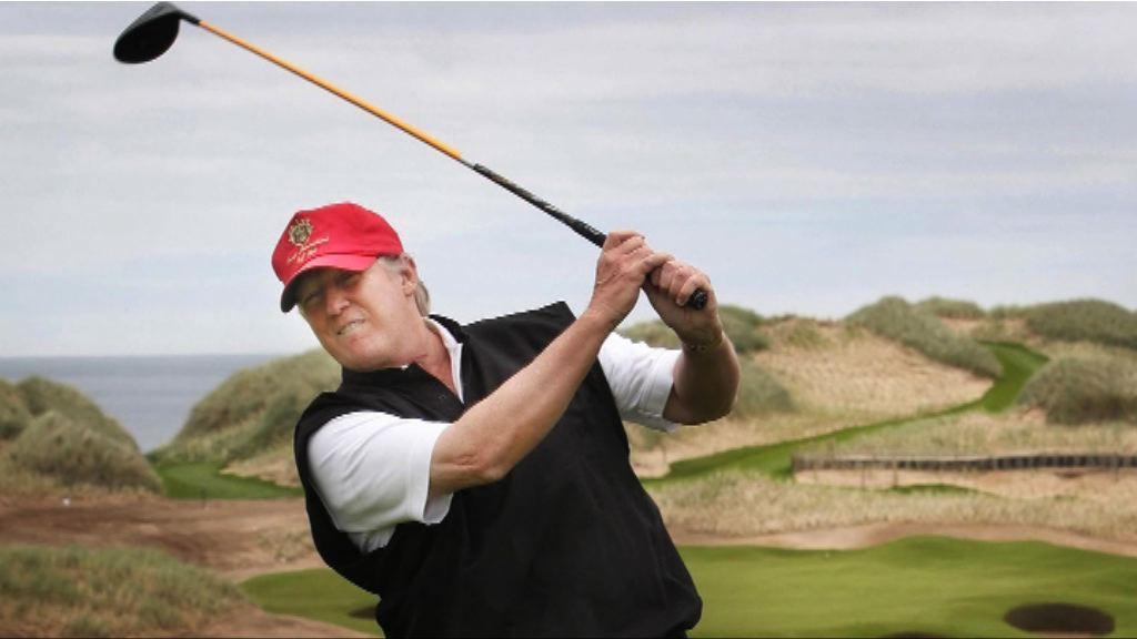 【環球薈報】安倍為見特朗普苦練高爾夫球?