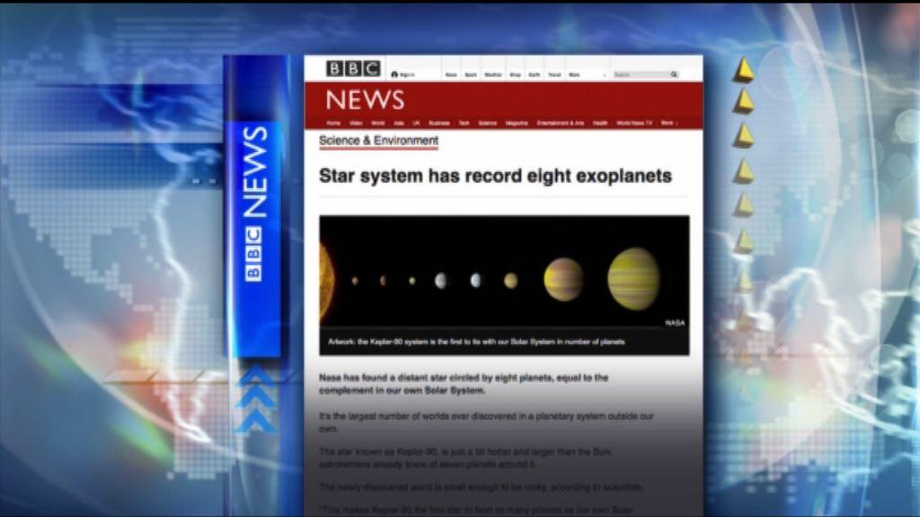 【環球薈報】美國太空總署發現「迷你太陽系」