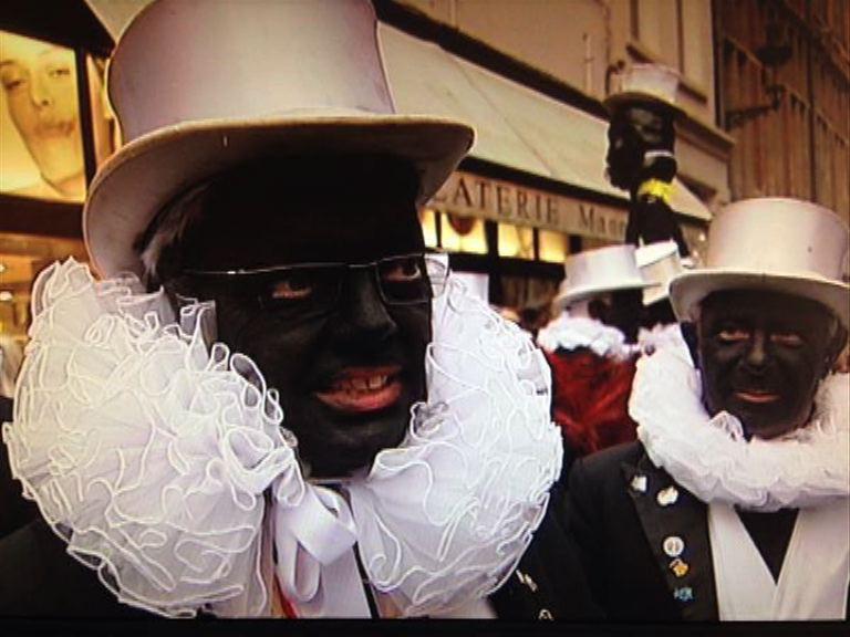 【環球薈報】比利時外長塗黑臉遊行惹非議