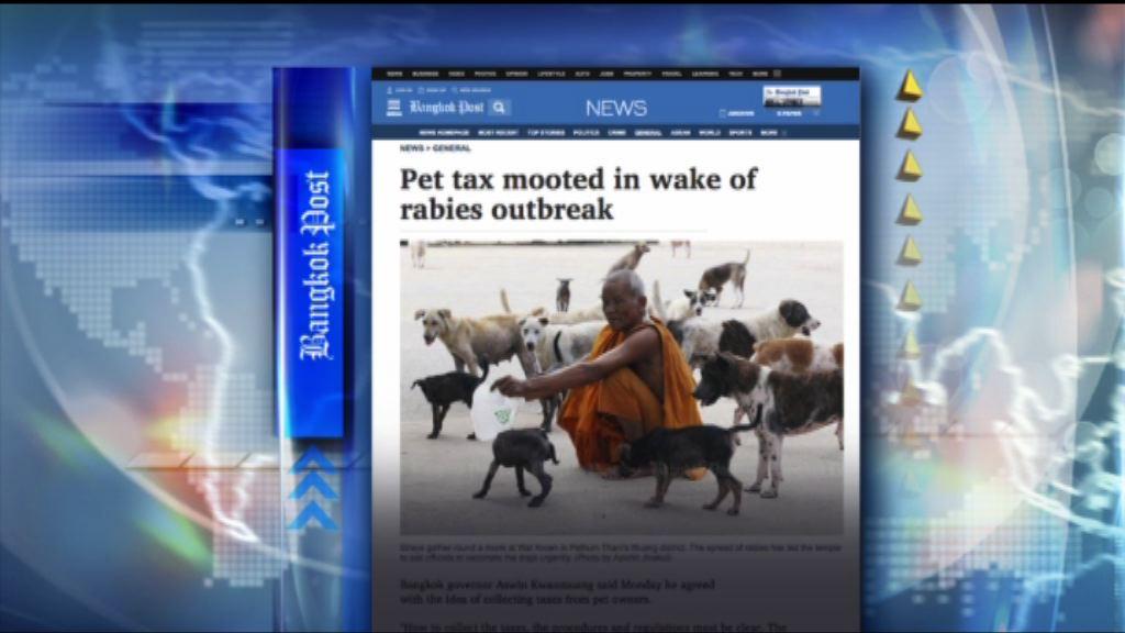 【環球薈報】泰國爆狂犬病疫情擬徵飼養寵物稅