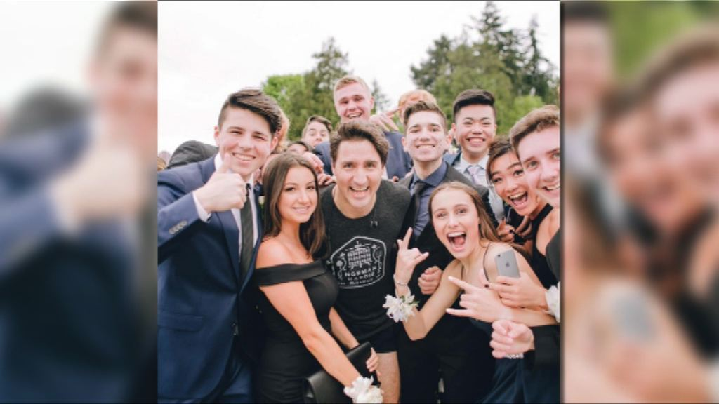 【環球薈報】溫哥華學生海傍捕獲杜魯多合照