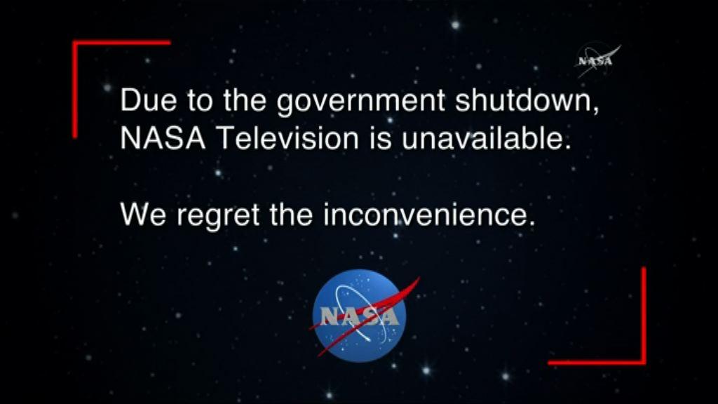 【環球薈報】NASA因政府停擺一度無法直播
