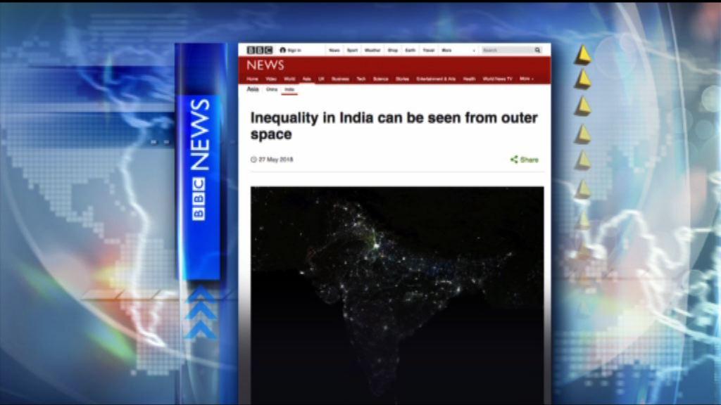 【環球薈報】從夜光地圖看印度貧富差距加劇