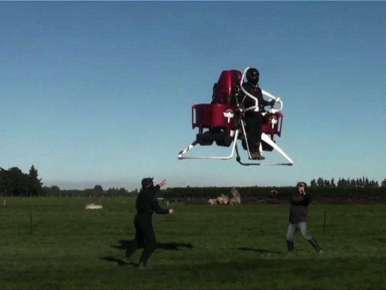 【環球薈報】新西蘭飛行噴射器售百萬港元