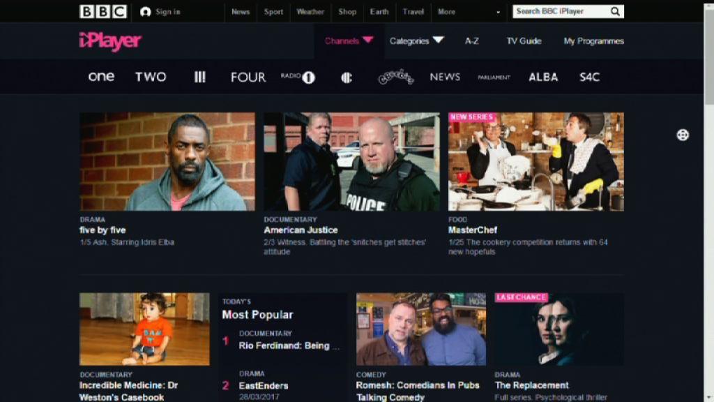 【環球薈報】年輕人轉投串流平台 BBC觀眾老化