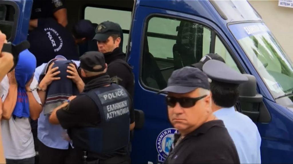 八土軍非法入境希臘案押後審訊