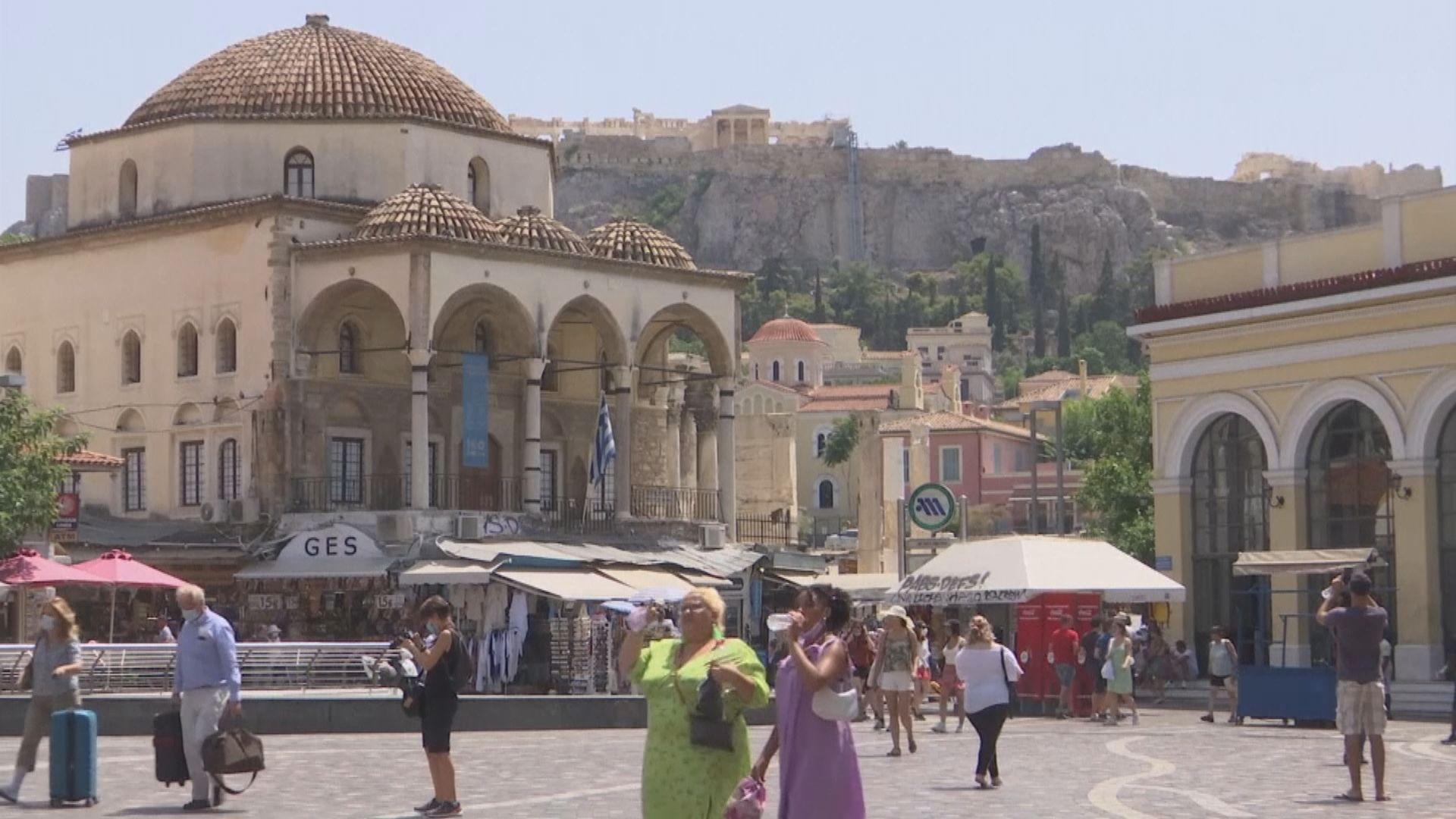 熱浪侵襲東南歐 希臘錄得45度高溫