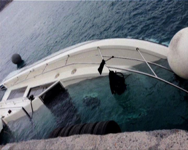 希臘船隻沉沒22非法移民死亡