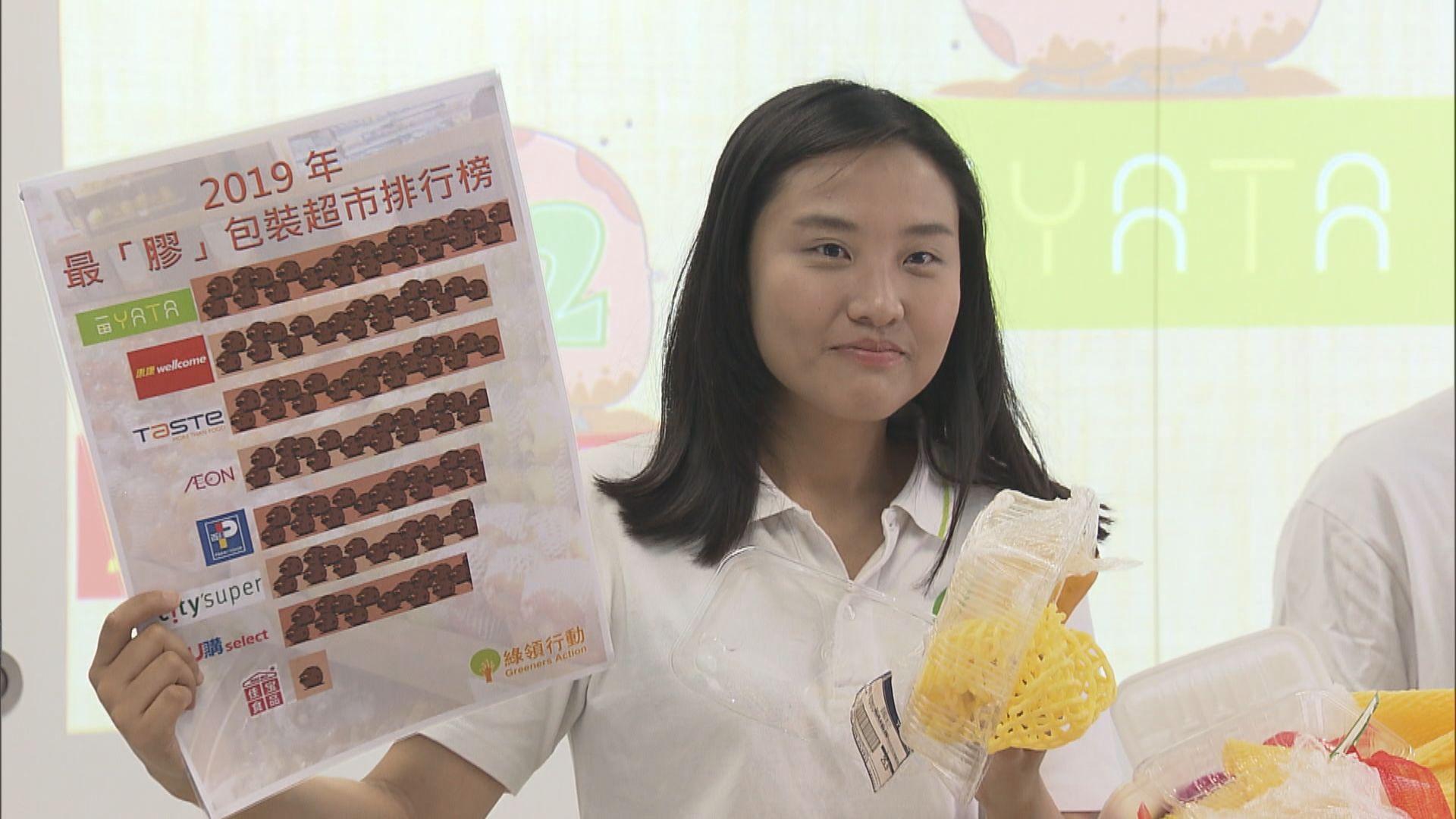 綠領行動:大型超市蔬果濫用包裝情況無改善