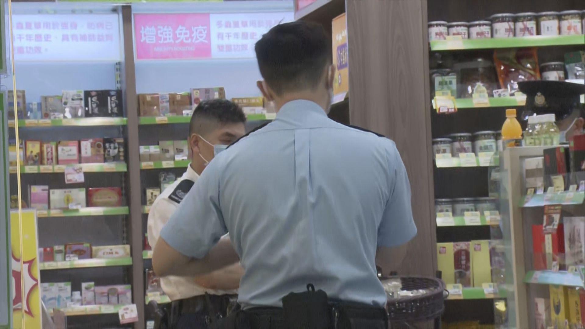 旺角有男子涉無牌管有槍械被捕