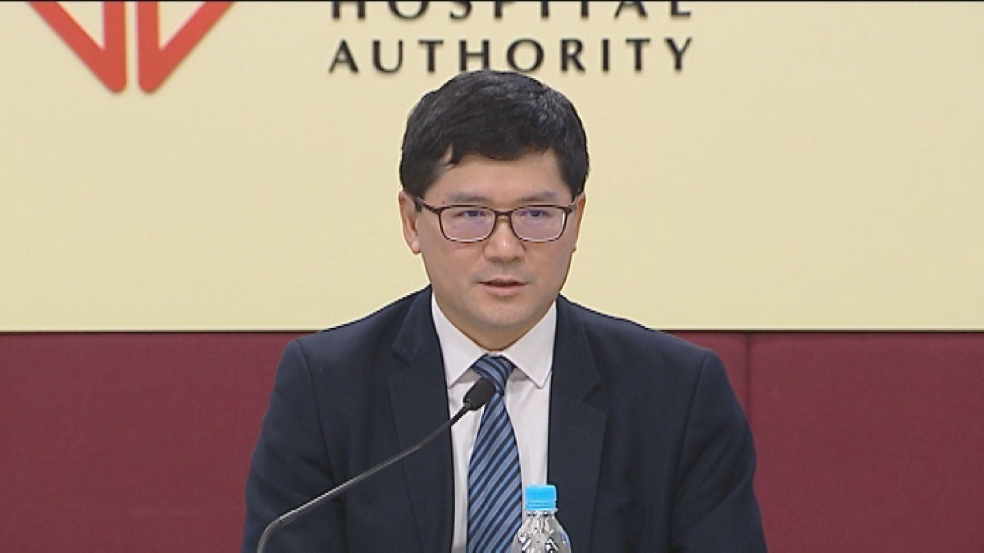 高拔陞明年接任醫管局行政總裁