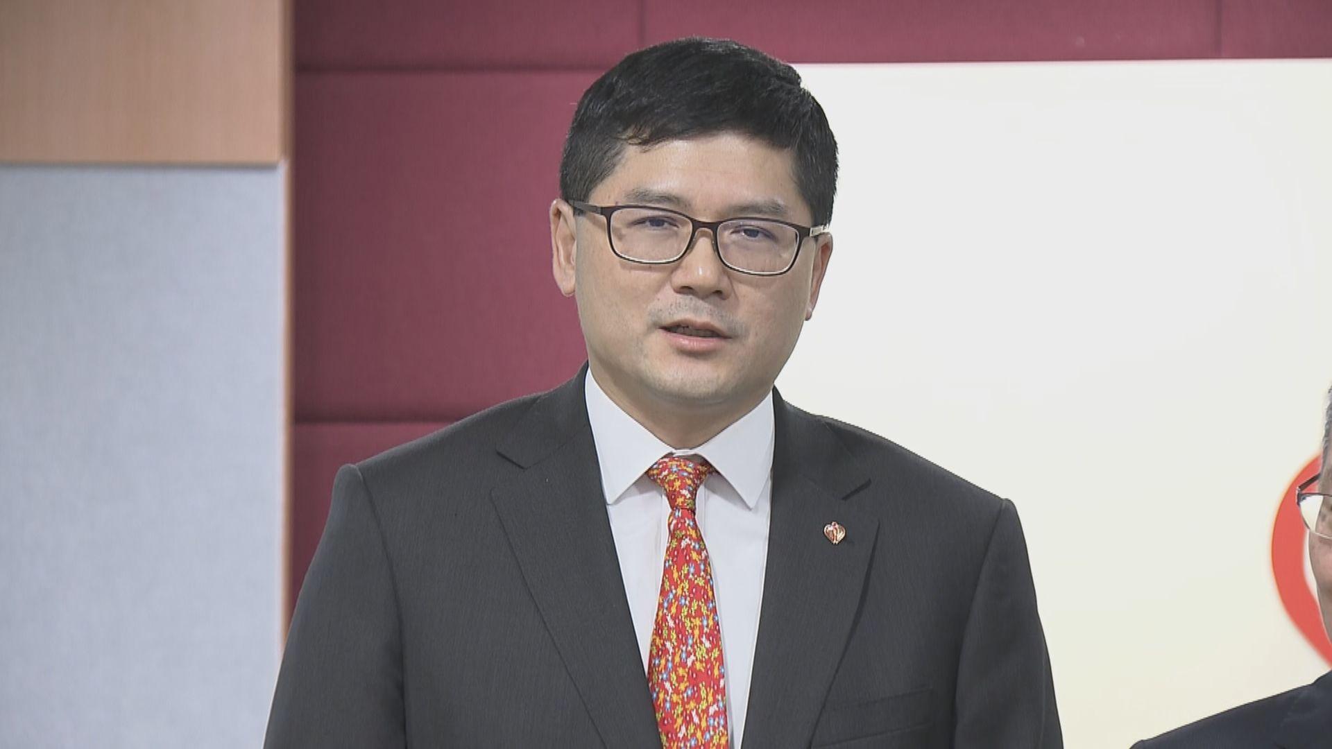高拔陞對獲委任醫管局行政總裁表示榮幸