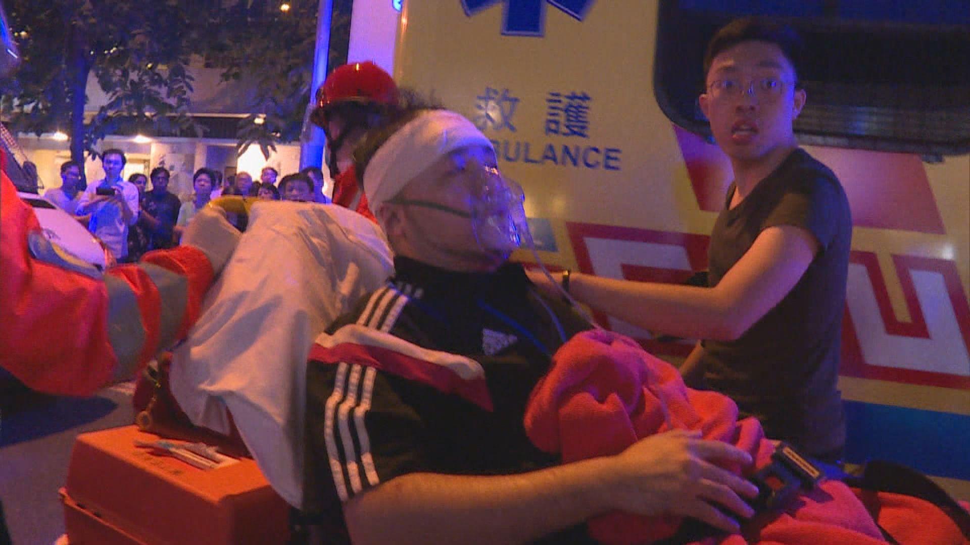 醫管局:截至早上十時共30人送院3人危殆