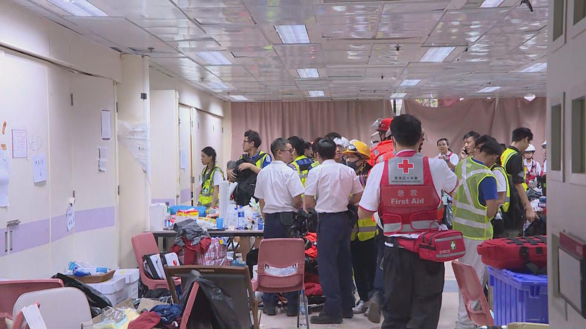 多間公立醫院急症室正處理大量理大傷者