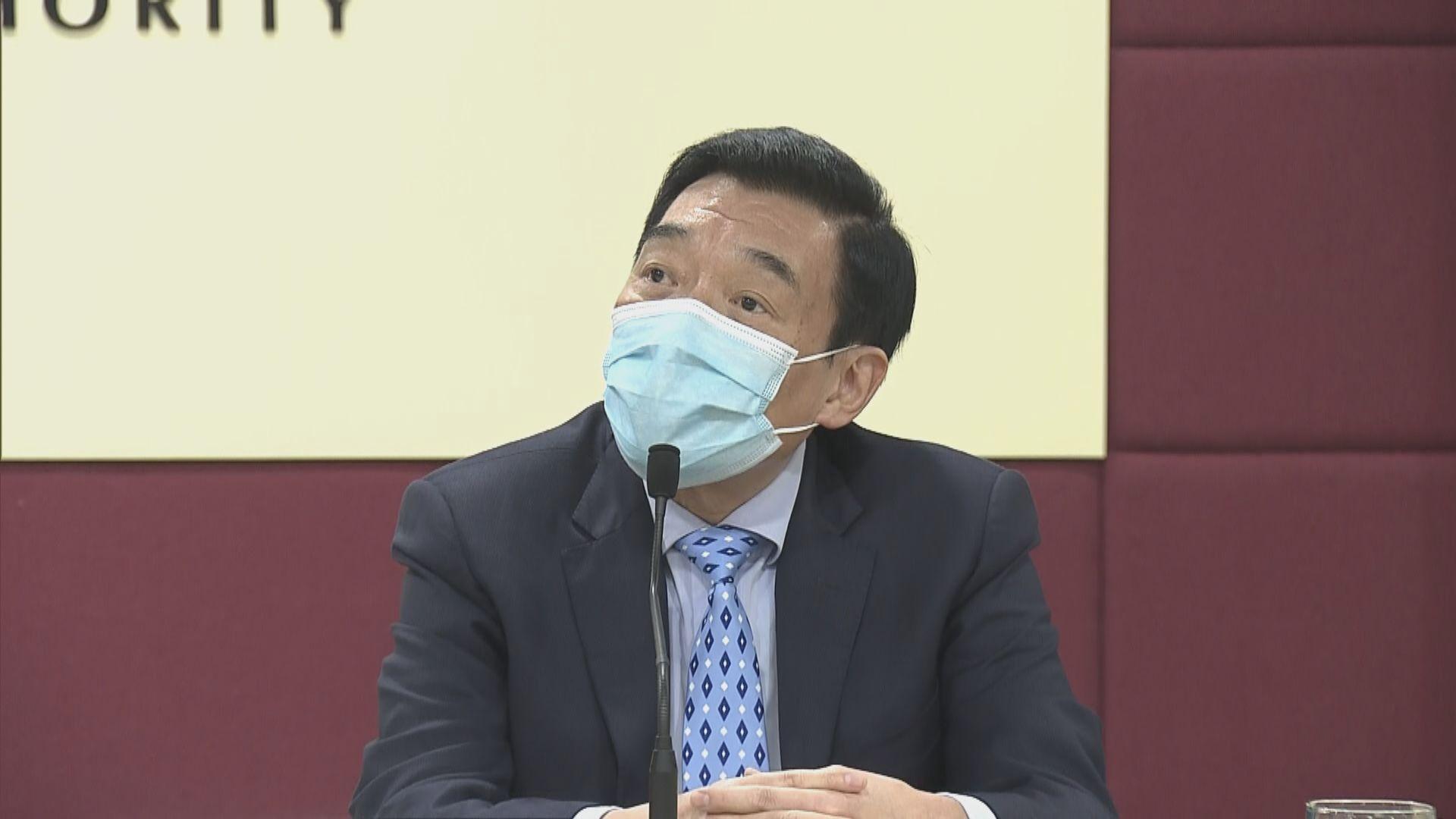 范鴻齡:已就員工二月罷工取法律意見 會合情合理處理