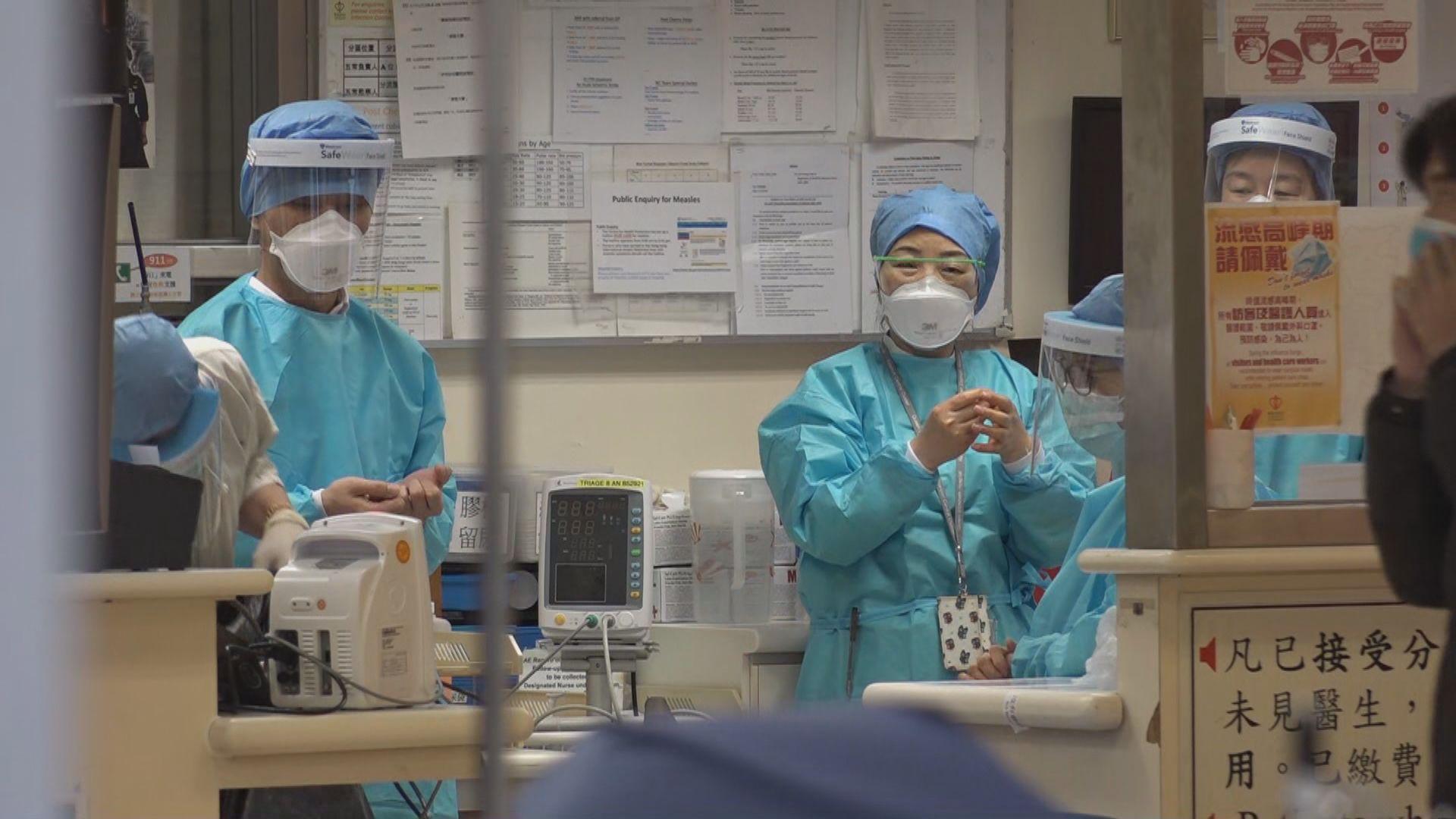 醫管局為特定員工進行定期病毒檢測