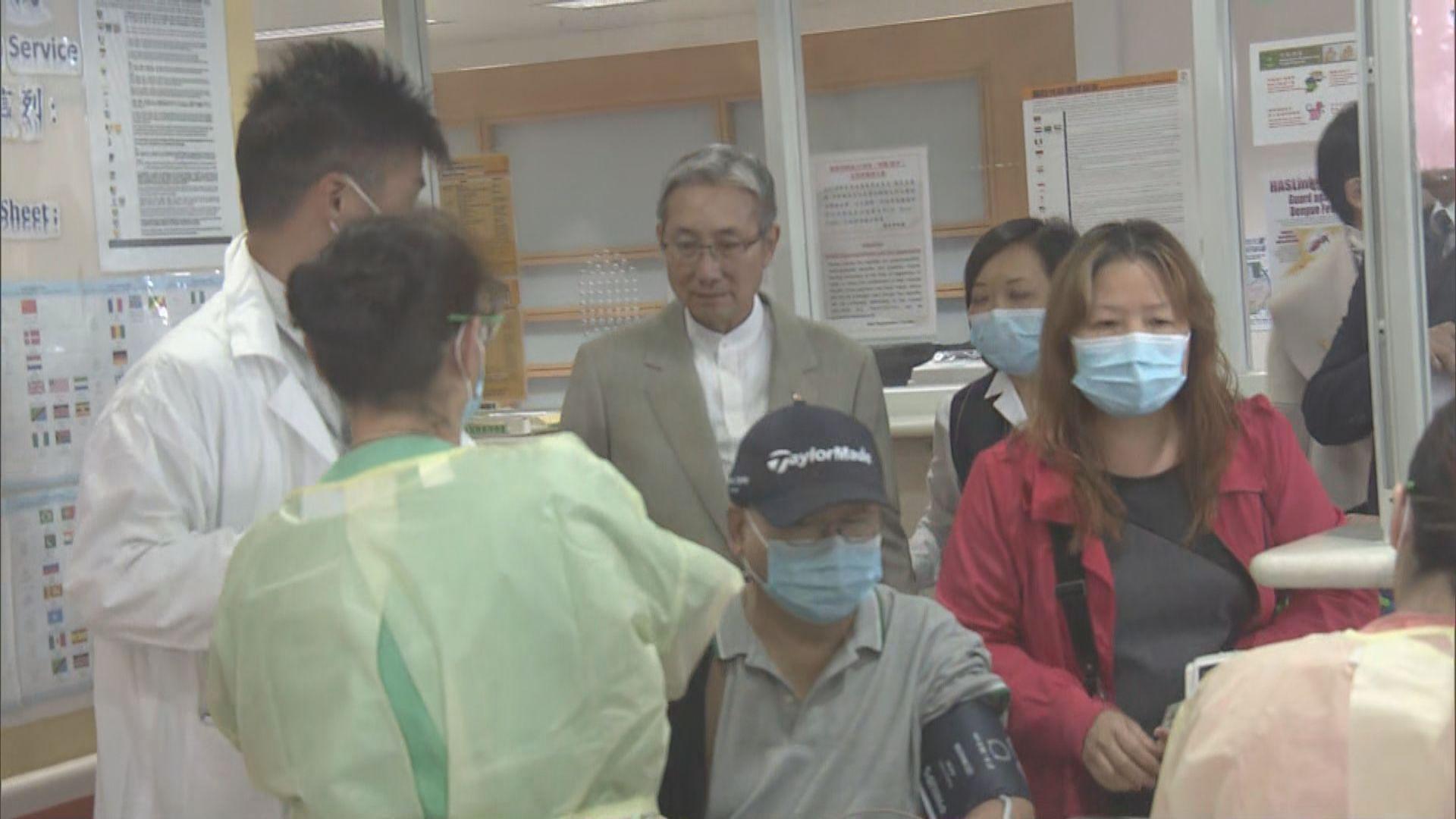 根據衞生防護中心數據 本港即將進入流感高峰期